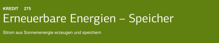 Batteriespeichersystemen in Verbindung mit Photovoltaik-Anlagen